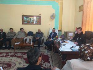 قسم الدراسات القرآنية يعقد اجتماعا مع الكادر التدريسي