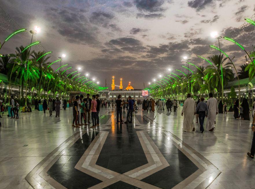مدينة كربلاء - العتبة الحسينة المقدسة