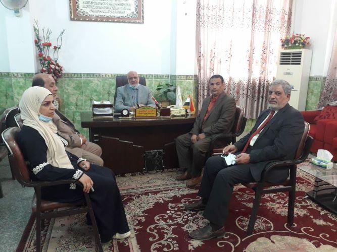 زيارة اعضاء لجنة المتابعة الامتحانية في كلية العلوم الاسلامية إلى الكليات الاهلية المناظرة لها