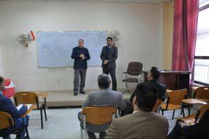تدريسي من قسم اللغة العربية يشارك في دورة سلامة اللغة العربية في كلية العلوم السياحية