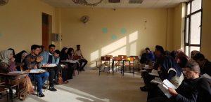 قسم اللغة العربية ينظم مناظرة علمية حول منهج البحث الادبي