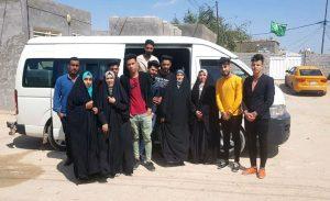 قسم اللغة العربية ينظم حملة لتقديم المساعدات للعوائل المتعففة