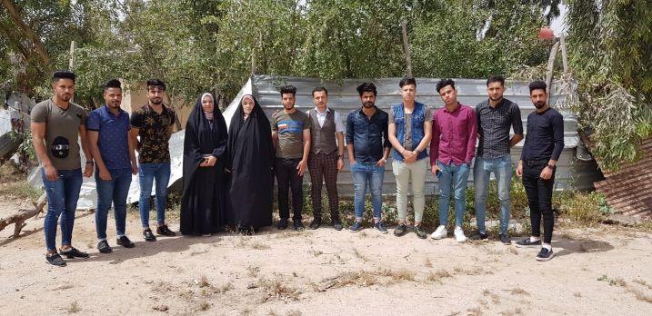 قسم اللغة العربية ينظم حملته الرابعة لتقديم المساعدات للعوائل المتعففة
