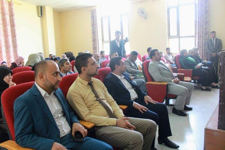 كلية العلوم الاسلامية ومركز الباحث يقيمان ندوة فكرية عن الحشد الشعبي المبارك